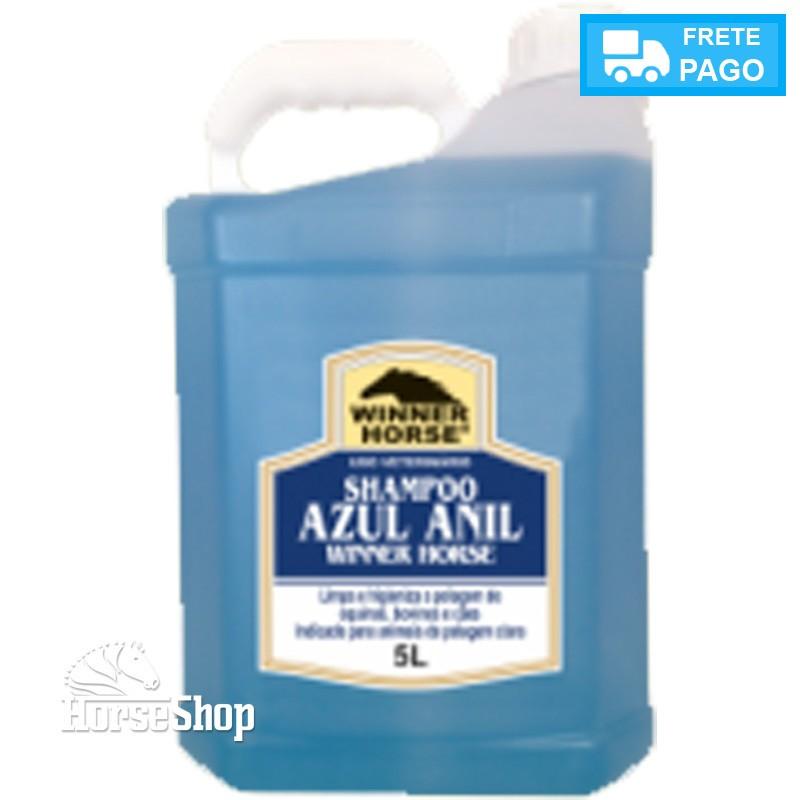 SHAMPOO AZUL ANIL 5 LITROS