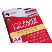TOP PAPER SUBLICOTTON A4 - caixa com 20 folhas