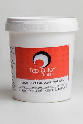 HIDROTOP CLEAR - AZUL MARINHO - 500gr