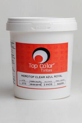 HIDROTOP CLEAR - AZUL ROYAL - 500gr