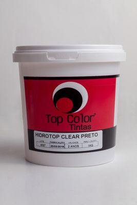HIDROTOP CLEAR - PRETO - 1 KG