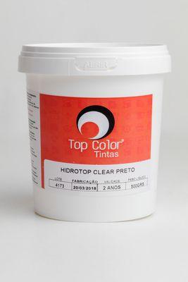 HIDROTOP CLEAR - PRETO - 500gr