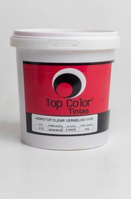 HIDROTOP CLEAR - VERMELHO VIVO - 1KG