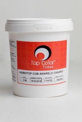 HIDROTOP COBERTURA - AMARELO CANÁRIO - 500gr