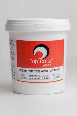 HIDROTOP COBERTURA - AZUL MARINHO - 500gr