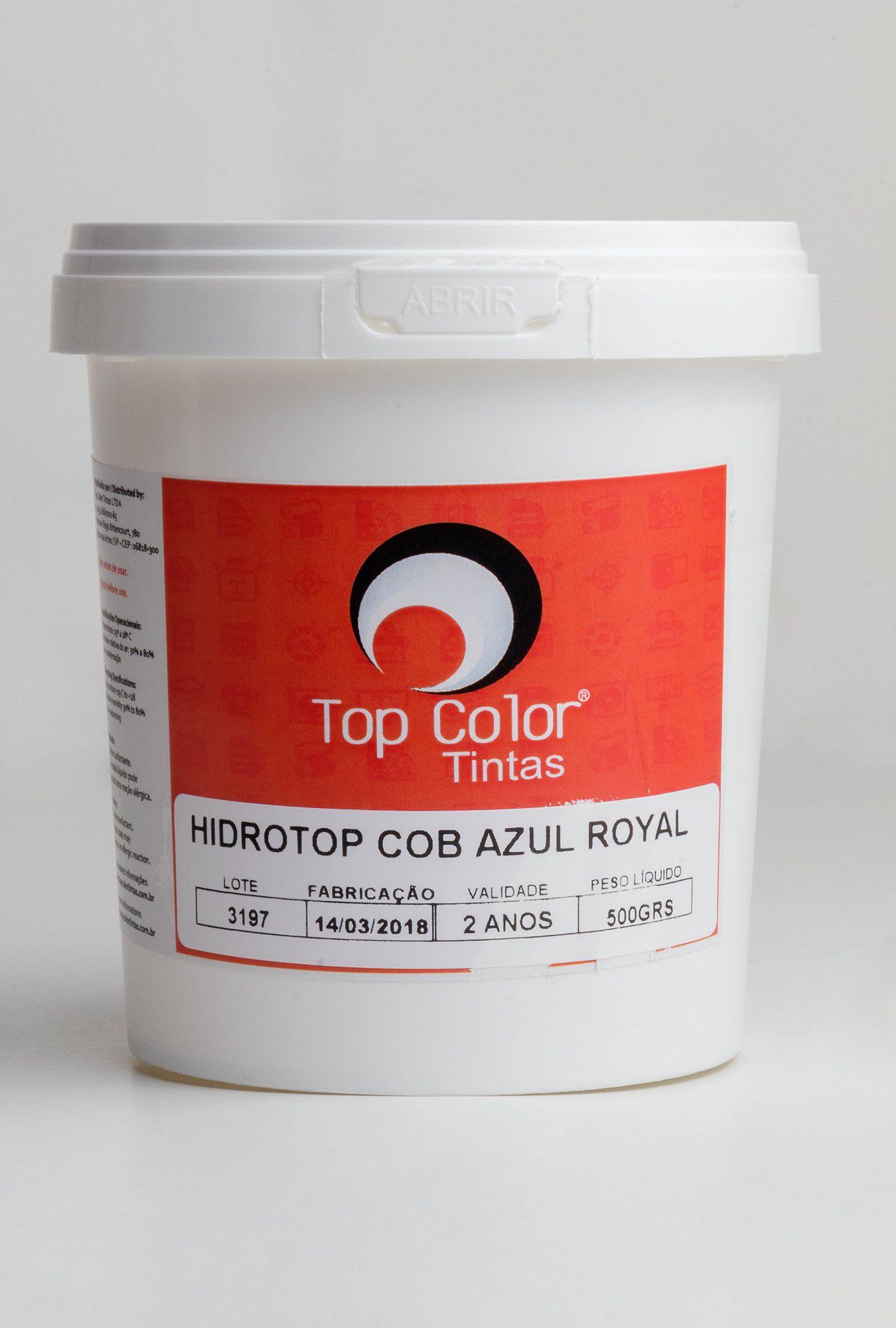 Hidrotop Cobertura azul royal - 0,5 kg