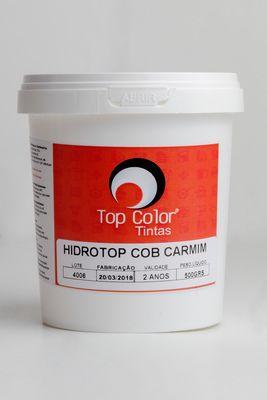 HIDROTOP COBERTURA - CARMIM - 500gr