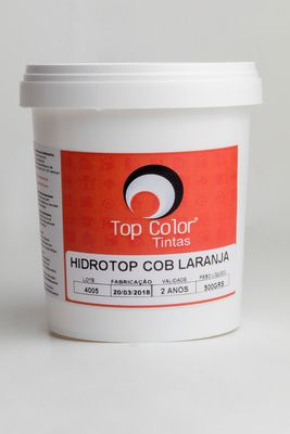HIDROTOP COBERTURA - LARANJA - 500 gr