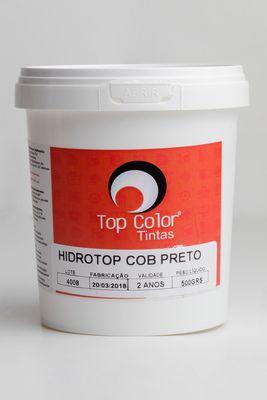 HIDROTOP COBERTURA - PRETO - 500gr