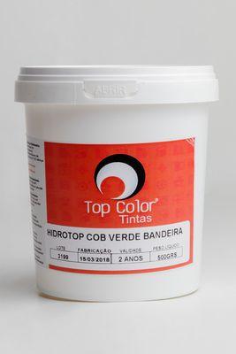 HIDROTOP COBERTURA - VERDE BANDEIRA - 500gr