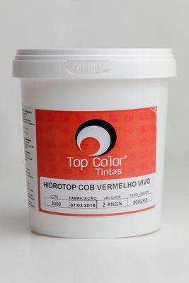 HIDROTOP COBERTURA - VERMELHO VIVO - 500gr