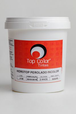HIDROTOP PEROLADO - INCOLOR - 500gr