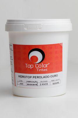 HIDROTOP PEROLADO - OURO - 500gr