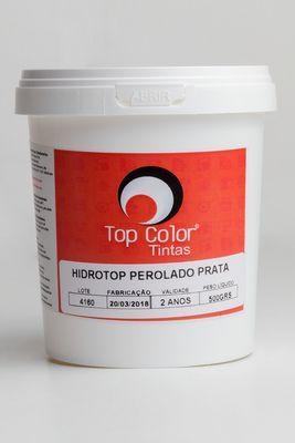 HIDROTOP PEROLADO - PRATA - 500gr