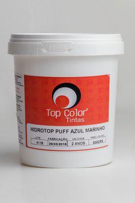 HIDROTOP PUFF - AZUL MARINHO -500 gr