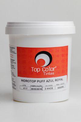 HIDROTOP PUFF - AZUL ROYAL - 500gr