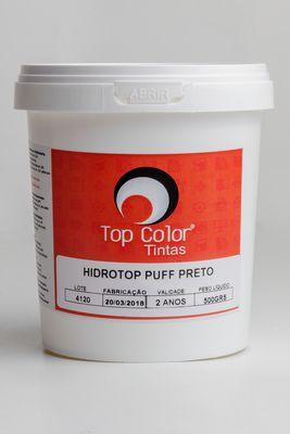 HIDROTOP PUFF - PRETO - 500gr