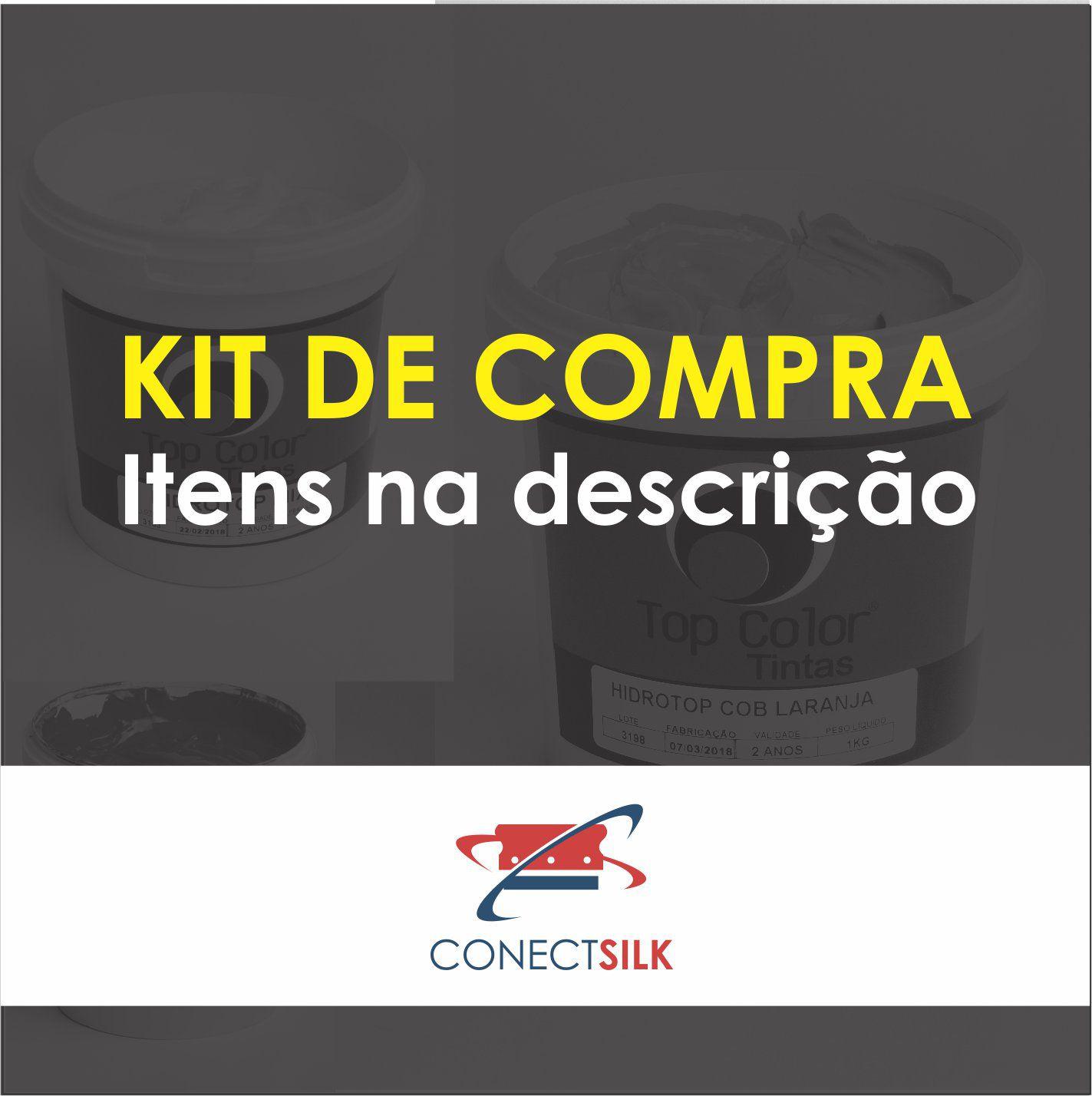 KIT HIDROTOP CROMIA + EMULSÃO VERDE - 1KG CADA