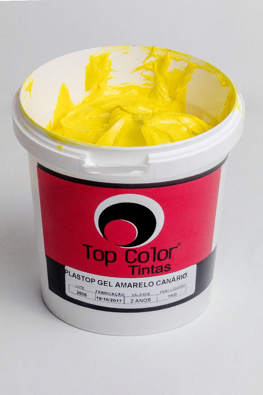 Pigmento Plastisol Amarelo Canário - 1 kg