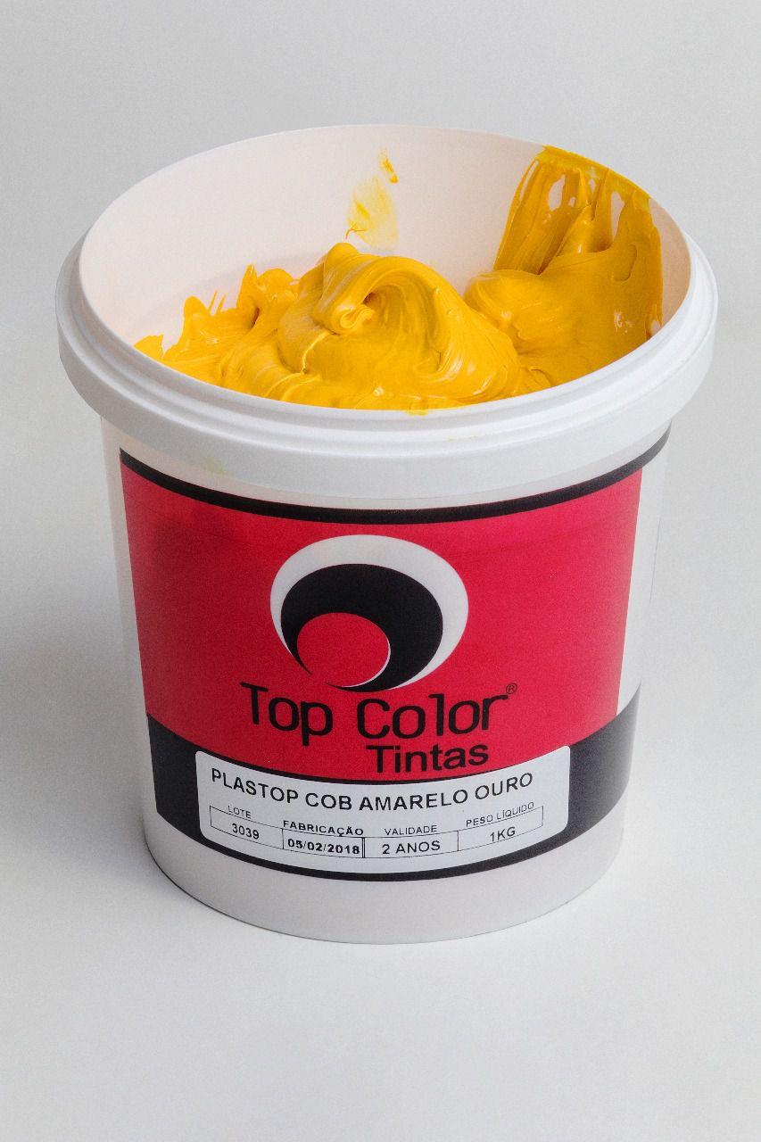 Pigmento Plastisol Amarelo Ouro - 1 kg