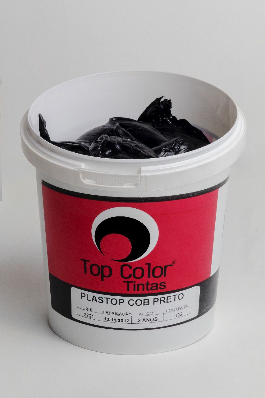 Pigmento Plastisol Preto - 1 kg