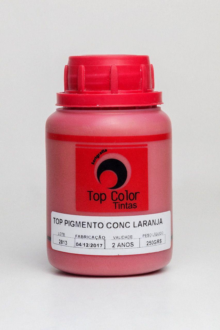Top pigmento conc Laranja - 0,250 kg