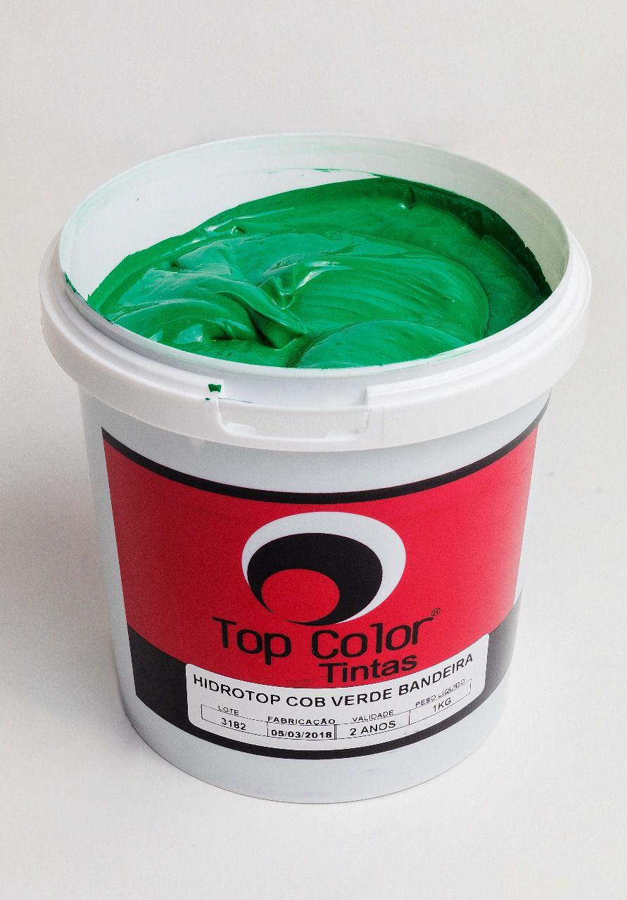 Top pigmento conc Verde Bandeira - 0,250 kg