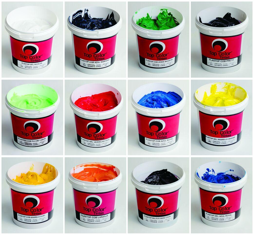 Top pigmento conc vermelho vivo - 0,250 kg