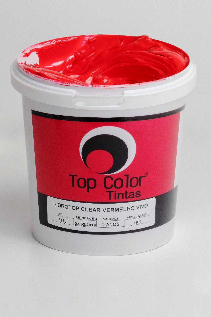 Top pigmento conc vermelho vivo - 1 kg