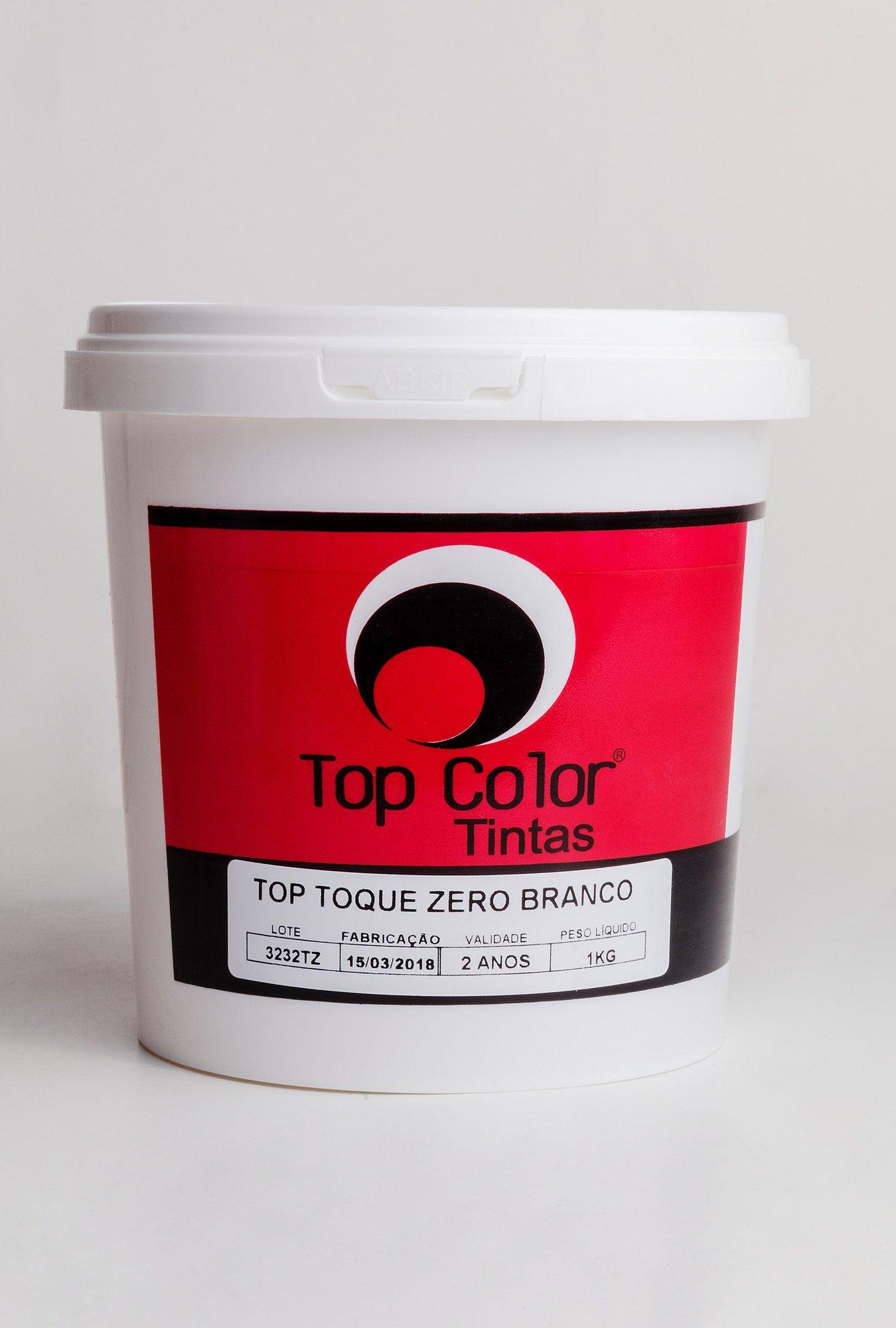 Top toque zero branco - 1kg