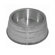 Comedouro de Alumínio Pesado p/ Cães - TAM GG