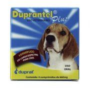Vermífugo Duprantel Plus 660mg - Caixa 4 comprimidos
