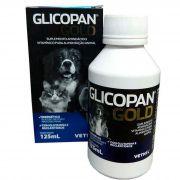 Glicopan Gold Suplemento Vitamínico para Cães e Gatos 125ml