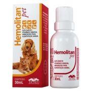 Hemolitan Pet Suplemento Vitamínico Gotas 30ml