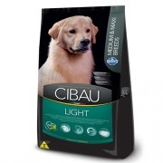 Ração Cibau Light Medium e Maxi Breeds