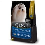 Ração Cibau Sensitive Fish Mini Breeds 3kg - Pequeno Porte