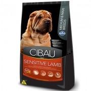 Ração Cibau Sensitive Lamb 12kg - Médio e Grande Porte