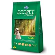 Ração Ecopet Natural Light para Cachorros Adultos de Pequeno Porte
