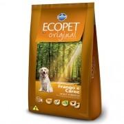 Ração Ecopet Original Frango e Carne  - Cães Adultos - 15kg