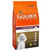 Ração Premier Golden Fórmula Carne e Arroz - Cães Adultos Pequeno Porte