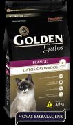 Ração Premier Golden Frango Gatos Castrados