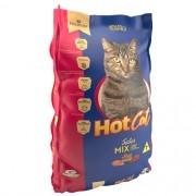 Ração Hot Cat Mix de Sabores - Gatos Adultos e Filhotes