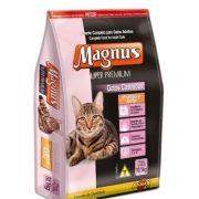 Ração Magnus Super Premium Frango e Arroz - Gatos Castrados 10,1kg