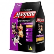 Ração Magnus Super Premium Frango e Arroz - Cães Pequeno Porte