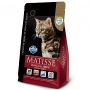 Ração Matisse Frango e Arroz - Gatos Adultos