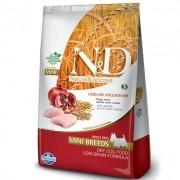 Ração N&D Ancestral Grain Frango, Romã, Aveia e Cevada - Cães Adultos Pequeno Porte