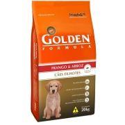 Ração Premier Golden Fórmula Frango e Arroz - Cães Filhotes - 15kg