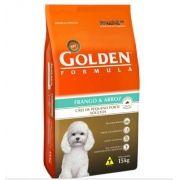 Ração Premier Golden Fórmula Frango e Arroz - Cães Adultos Pequeno Porte