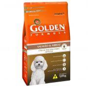 Ração Premier Golden Fórmula Salmão e Arroz - Alimento Premium Especial Cães Adultos Pequeno Porte