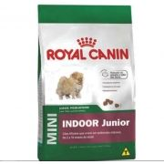 Racão Royal Canin Mini Junior Indoor 7,5kg